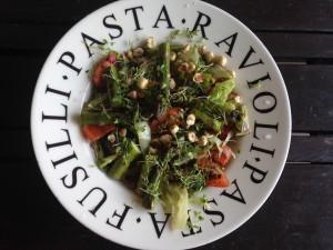 salade linzen asperges bord1