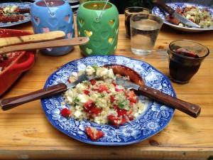 quinoa- tafel